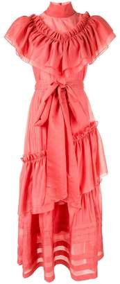 Anna October ruffle maxi dress