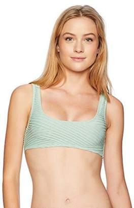 Bikini Lab Women's Bralette Hipster Bikini Swimsuit Top
