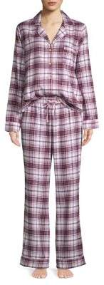 UGG Raven Flannel Two-Piece Pajama Set