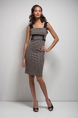Tai Dress in Lurex Weave