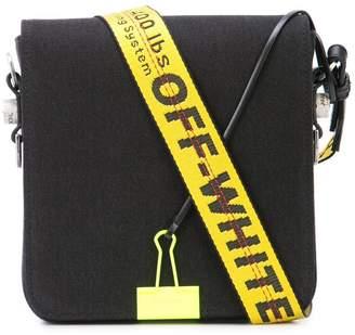 Off-White logo strap cross body bag