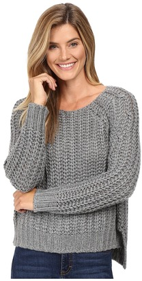 KUT from the Kloth Page Chunky Crew Neck Top $98 thestylecure.com