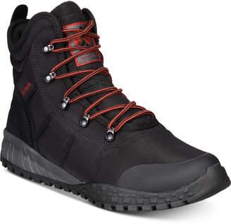 Columbia Men Fairbanks Omni-Heat Waterproof Boots Men Shoes