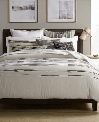 Hotel Collection CLOSEOUT! Global Stripe Bedding Collection, Created for Macy's