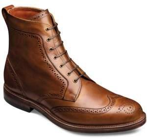 Allen Edmonds Dalton Leather Wingtip Ankle Boots