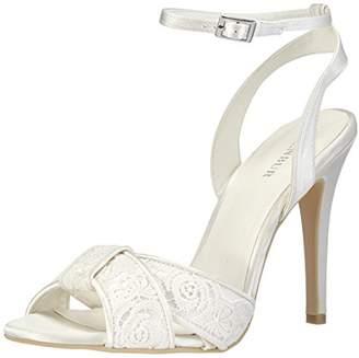 Menbur Wedding Women's Paula Ankle Strap Sandals Ivory Size: 5