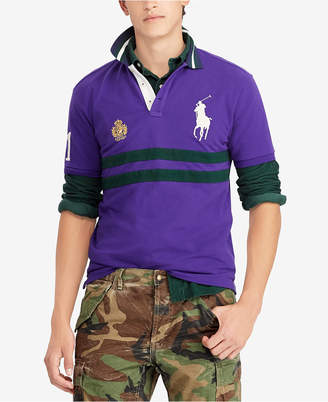 Polo Ralph Lauren Men Custom Slim Fit Mesh Cotton Polo