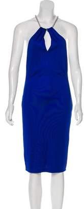 Ralph Lauren Black Label Sleeveless Knee-Length Dress