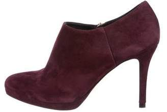 LK Bennett Suede Pointed-Toe Booties