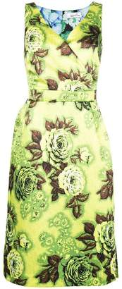 DAY Birger et Mikkelsen Richard Quinn floral print fitted dress