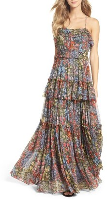 Women's Needle & Thread Flowerbed Maxi Dress $499 thestylecure.com