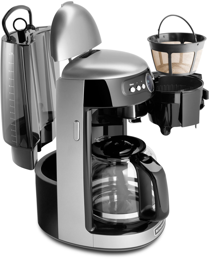 KitchenAid Contour Silver Coffee Maker