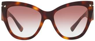 Valentino Cat-Eye Sunglasses