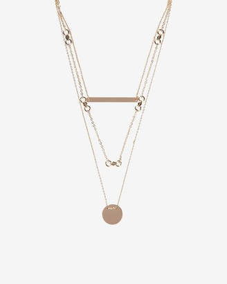 Express Three Row Layered Necklace