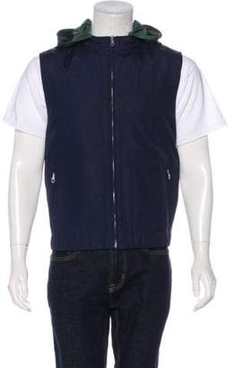 Salvatore Ferragamo Reversible Hooded Vest