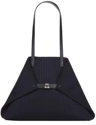 Akris Ai Textured Medium Shoulder Bag