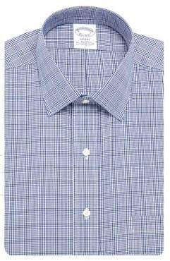Brooks Brothers Regent-Fit Stretch Two-Tone Plaid Dress Shirt