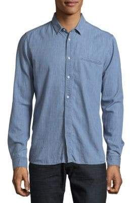 HUGO BOSS Emington Cotton Casual Button Down Shirt
