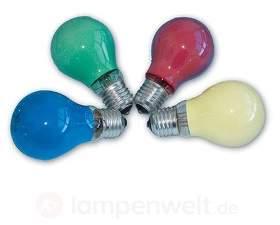 E27 25W/40W farbige Glühlampe für Lichterkette