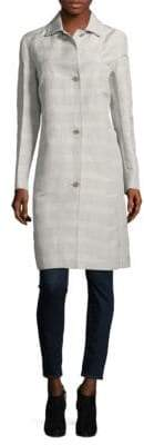 Akris Adorata Long-Sleeve Coat