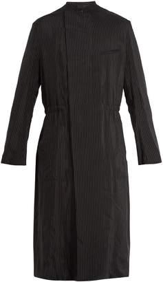 Haider Ackermann Lightweight pinstripe coat