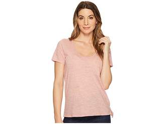 Three Dots Short Sleeve Pocket Tee Women's Short Sleeve Pullover