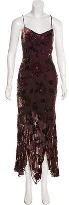 Sue Wong Sleeveless Maxi Dress