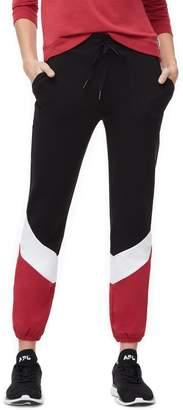 Good American Colorblock Sweatpants