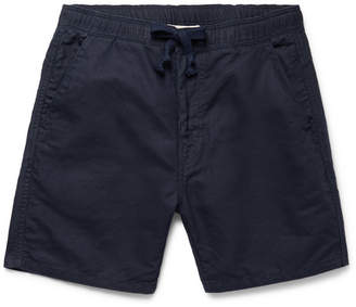 Remi Relief Slim-Fit Cotton And Linen-Blend Drawstring Shorts