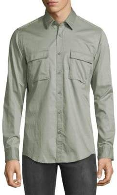 HUGO BOSS Lorin Flap Pocket Shirt