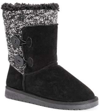 Muk Luks Matilda Faux Fur Lined Boot