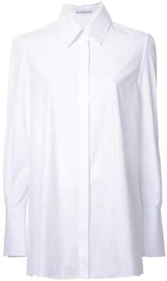 Ermanno Scervino concealed fastening shirt