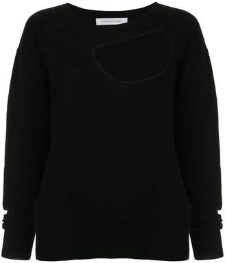 CHRISTOPHER ESBER cut-out knitted jumper