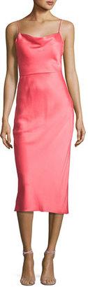 Jason Wu Satin Trompe l'Oeil Cocktail Slip Dress $1,695 thestylecure.com