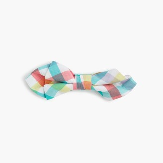 Boys' cotton tie in rainbow gingham $22.50 thestylecure.com