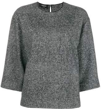 Rochas checkered blouse
