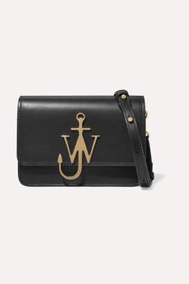 b0eada2ad81a J.W.Anderson Logo Mini Leather Shoulder Bag - Black