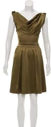 Galliano Satin Mini Dress