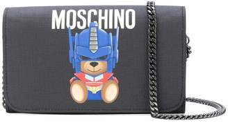 Moschino Transformer Teddy shoulder bag