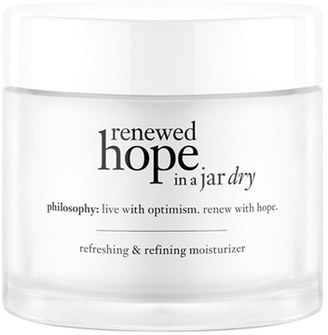 Philosophy 'Renewed Hope In A Jar Dry' Refreshing & Refining Moisturizer $39 thestylecure.com