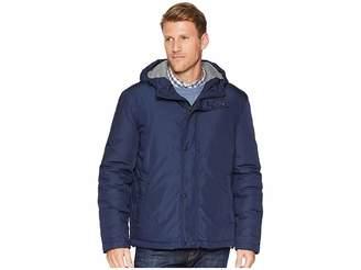 Cole Haan Oxford Rain Zip Front Jacket Men's Coat