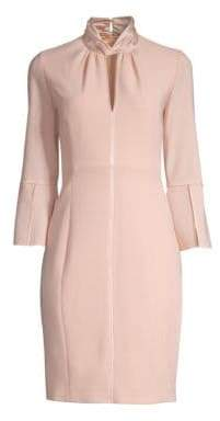 Elie Tahari Dorothea Fluid Crepe Dress
