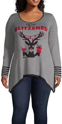 Unity World Wear Unity One World Blitzen Pullover Sweater - Plus