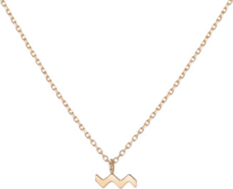 AUrate New York Gold Vermeil Zodiac Necklace