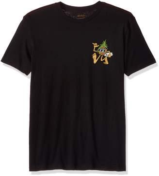 RVCA Young Men's Rvcaloha Pineapple Vintage Wash Tee Shirt