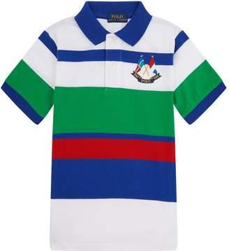 Polo Ralph Lauren Colour Block Stripe Polo Shirt