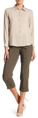 Insight Solid Cuff Crop Pants