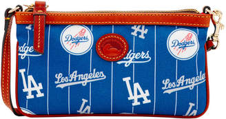 Dooney & Bourke MLB Dodgers Large Slim Wristlet
