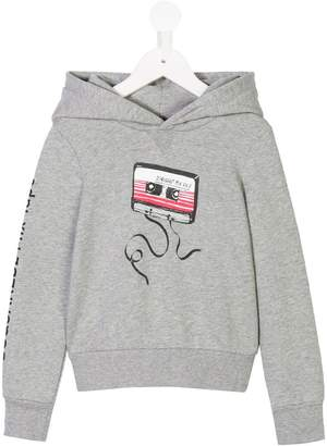 DSQUARED2 cassette tape hoodie