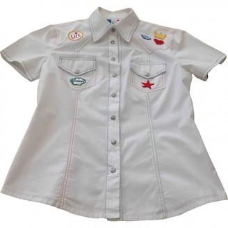 JC de CASTELBAJAC White Cotton Top for Women